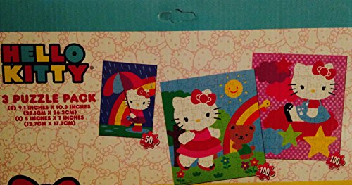 Hello Kitty 3 Puzzle Pack