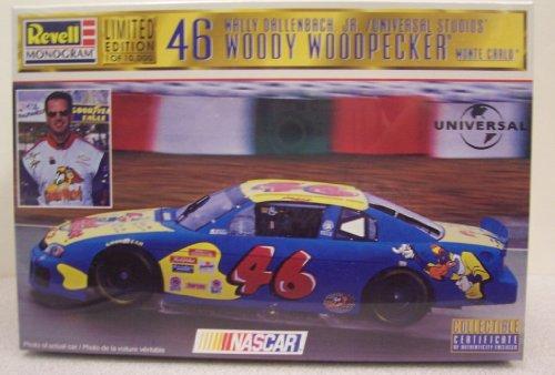 Revell #4132 Wally Dallenbach, Jr. Woody Woodpecker Monte Carlo Plastic kit