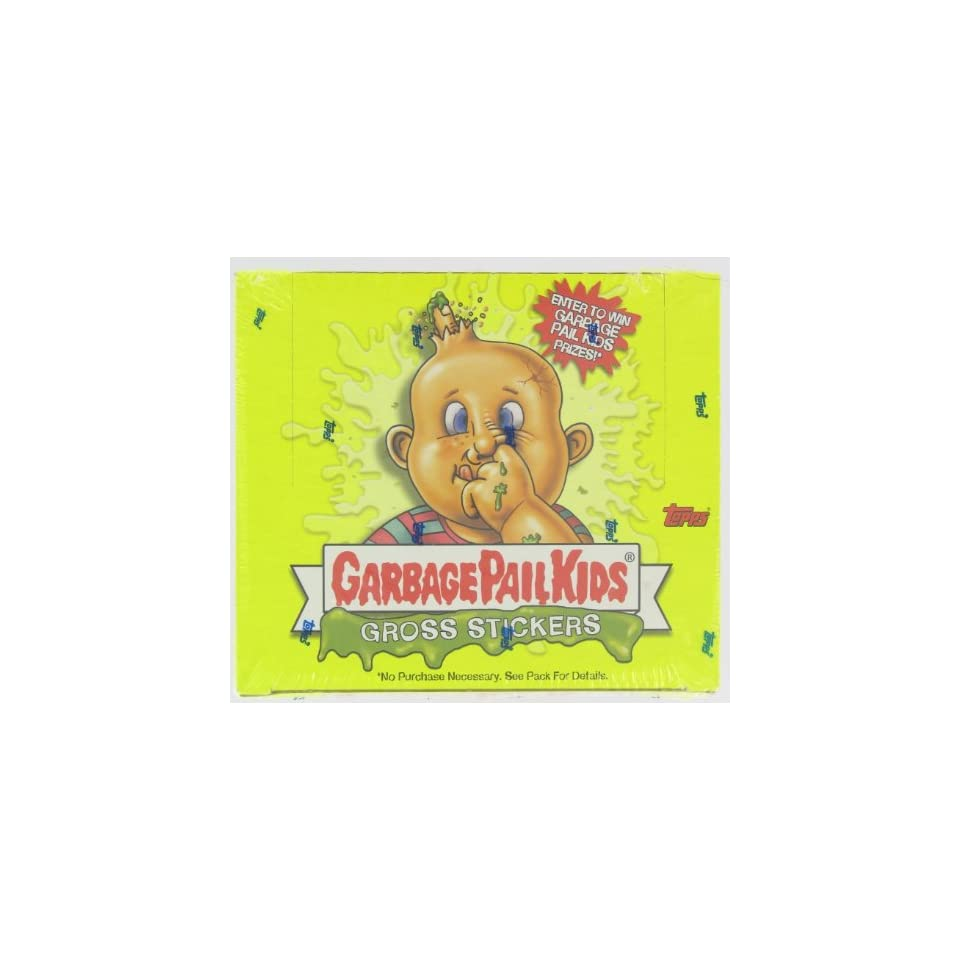 Garbage Pail Kids Gross Stickers Trading Card Stickers Box 24 Packs
