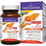 New Chapter Wholemega Whole Fish Oil, 480 Count