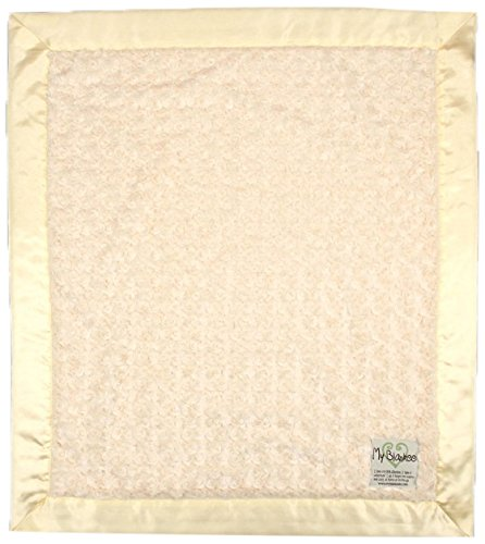 "My Blankee Luxe Snail Baby Blanket, 30"" x 35"", Yellow"