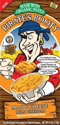Pirate Brands - Mac&Chs,Mild Cheddar, 12 x 6 OZ (Pirate Booty Mac And Cheese compare prices)