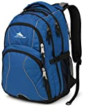 High Sierra Swerve Backpack, Royal Cobalt/Black, 19 x 13 x 7.75-Inch