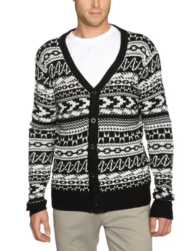 Iron Fist The Cosby Jaquard Knit Mens Cardigan