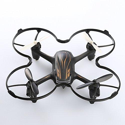 Hubsan H107P X4 PLUS 2.4GHz 4CH 六轴ジャイロ 高度保持機能 ヘッドレスモード USB充電できる RC ドローン ラジコン クアッドコプター マルチコプター