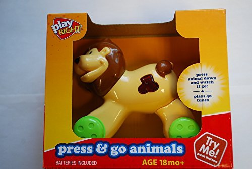 Play Right Press & Go Animals by Walgreens Co.