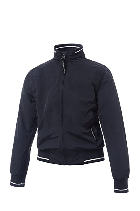 Tucano urbano 8823KBS12 sUMMER kID fully respirant pIPER short jacket treatment with wR, bleu foncé, dimensions 12y