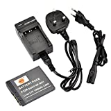 DSTE® NP-BD1 Rechargeable Li-ion Battery + Charger DC02U for Sony NP-BD1, NP-FD1 and Sony Cyber-shot DSC-G3, DSC-T2, DSC-T70, DSC-T75, DSC-T77, DSC-T90, DSC-T200, DSC-T300, DSC-T500, DSC-T700, DSC-T900, DSC-TX1 etc ...