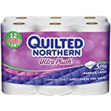 Quilted Northern Ultra Plush Bath Tissue, 12 Double Rolls