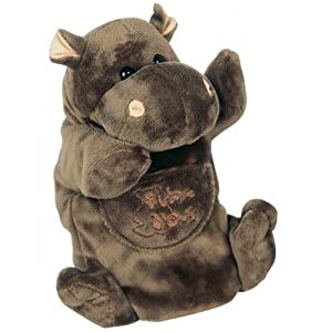histoire d 39 ours 25 cm hippo hand puppet baby. Black Bedroom Furniture Sets. Home Design Ideas