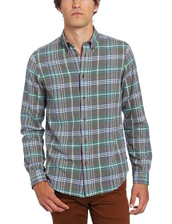 (29折)英国大牌 Ben Sherman宾舍曼 男士时尚经典格子衬衫 Plectrum Linen $36.32