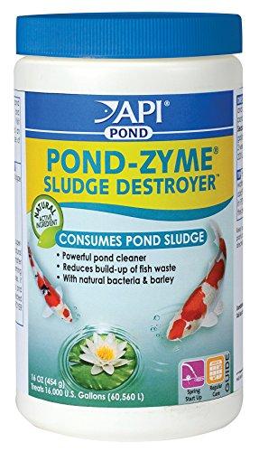 API Pondcare Pond-Zyme Enzymatic Pond Cleaner Barley, 1-Pound