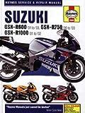 Suzuki GSX-R600 (01-03), GSX-R750 (00-03) and GSX-R1000 (01-02) Service and Repair Manual (Haynes Service and Repair Manuals) Phil Mather