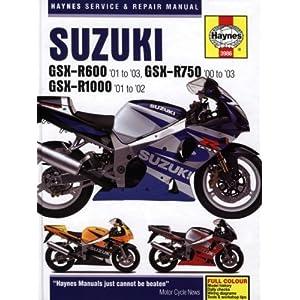 【クリックで詳細表示】Suzuki GSX-R600 '01 to '03, GSX-R750 '00 to '03, GSX-R1000 '01-'02 (Haynes Service & Repair Manual): John H Haynes: 洋書