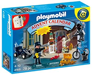 Playmobil 4168 Christmas Advent Calendar Police