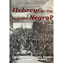 Hebrew or the So-Called Negro?