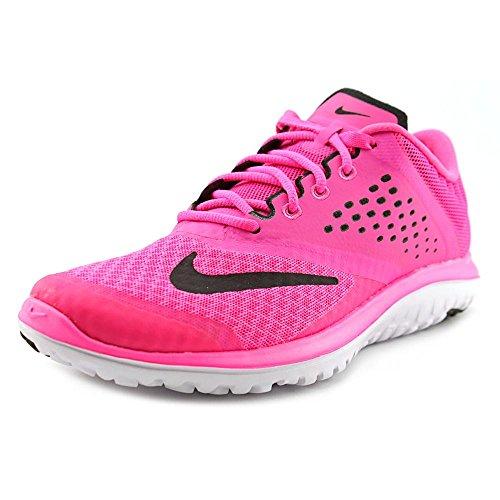 Nike Womens FS Lite Run 2 Running Shoe Pink Pow/White/Black 8