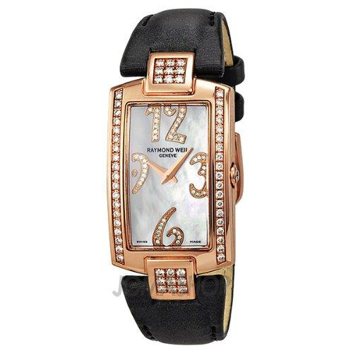 Raymond Weil Shine Diamond Rose Gold Ladies Watch 11810-GS-05983