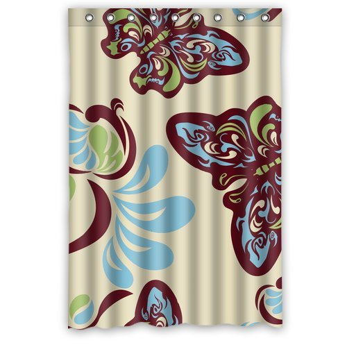 """Painting Beautiful Butterfly Graceful Dancing Shower Curtain 48""""X 72"""" front-1047919"""