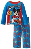 Mickey Mouse Little Boys' Toddler Cozy Fleece Pajama Set