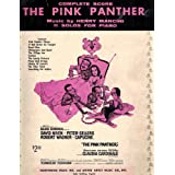 Complete Score The pink panther-11 Solos for Piano