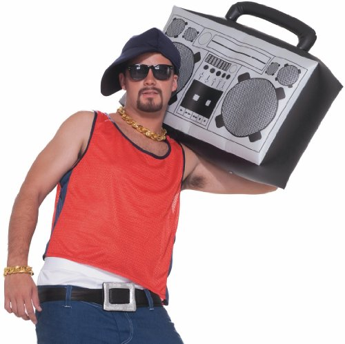 1980s Hip Hop Inflatable Boom Box/ Ghetto Blaster