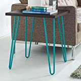 Altra Small Home Retro End Table - This Mid-century, Vintage Table Is the Best Furniture for Your Dining Room, Living Room or Office. Just Place It Next to Your Sofa and You Can Use It Also As a Coffee Table. This Small End Table Is Made of Wood and Has B