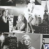 Marilyn Monroe Wallpaper Black and White