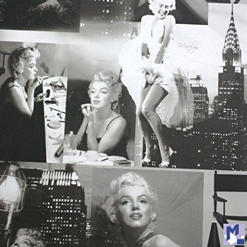 Marilyn Monroe Wallpaper Black and White