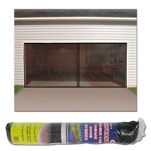 IdeaWorks Instant Garage Screen Door-Double (Double Garage Door Screen compare prices)