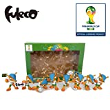 2014 Brazil Football World Cup 8 pcs 3-D Collectible figurines Box Set WC856