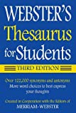 Websters Thesaurus for Students, Third Edition