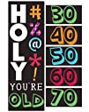 Creative Converting Holy Bleep Giant Party Banner with Customizable