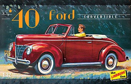 "Lindberg modèles Echelle 1?: 32modèle ""1940Ford Convertible Kit"