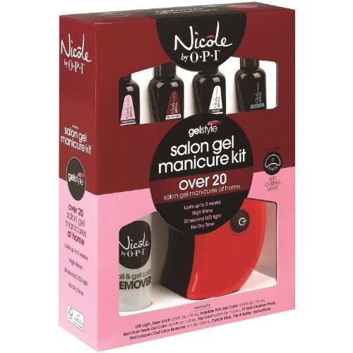 Nicole By Opi Salon Gel Manicure Kit
