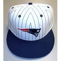 New England Patriots Flat BIll Fitted Reebok Hat Size 7 3/4