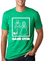 Game Over Wedding T-Shirt - Funny Wedding Shirt for Grooms
