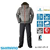シマノ DSアドバンスウォームスーツ RB-025M ムーキビーダーク (M~XL) 防寒着 L