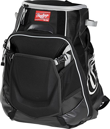 Rawlings Sporting Goods Velo Back Pack Black (Backpacks Good For Back compare prices)