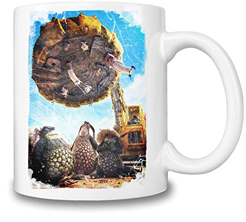 Bottersnikes & Gumbles Planet Tazza Coffee Mug Ceramic Coffee Tea Beverage Kitchen Mugs By Slick Stuff