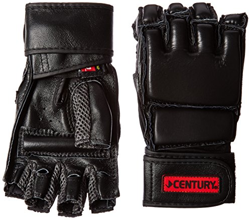 Century Men's Leather Wrap Gloves with Clinch Strap (Small/Medium) (Century Boxing Gloves compare prices)