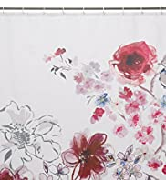 In Bloom Floral Print Shower Curtain