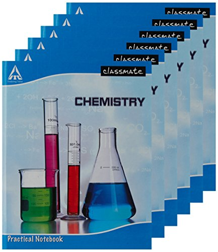 ITC Practical Notebook - Chemistry - 28 X 22 cm, Hard Cover, Single Line (pack of 6)