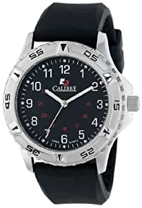 Calibre Men's SC-4S1-04-007R Sea Wolf Round Stainless Steel Unidirectional Rotating Bezel Luminous Watch