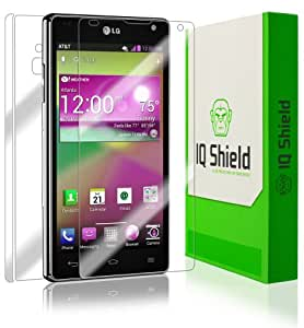 LG Optimus G Screen Protector [AT&T][4G,Full Coverage], IQ Shield® LiQuidSkin - Full Body (Front & Back) & - HD Ultra Clear Film Guard - Smooth / Self-Healing / Bubble-Free Shield