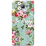 Tecozo Designer Printed Back Cover For Samsung A7, Samsung A7 Back Cover, Hard Case For Samsung A7, Case Cover For Samsung A7, (Be Happy Design, Animals & Nature)