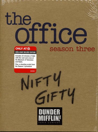 The Office Season 3 Nifty Gifty Target Exclusive DVD