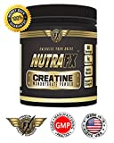 NUTRAFX CREATINE MONOHYDRATE POWDER 300g ~ (Micronized) ~ BODYBUILDING Supplement ~ Post Workout Recovery ~ Promotes Muscle Mass ~ Increases Muscle Strength ~ Made In GMP Approved And NSF Certified Facility ~ 100% Money Back Guarantee