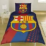 Original FC Barcelona FCB Bettw�sche Bettgarnitur 135x200 cm NEU Design 2013