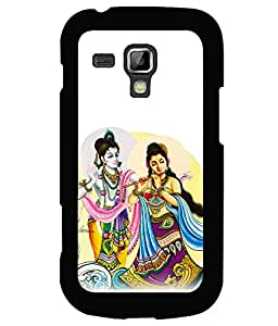printtech Radha Krishna Beautiful Back Case Cover for Samsung Galaxy S Duos 2 S7582